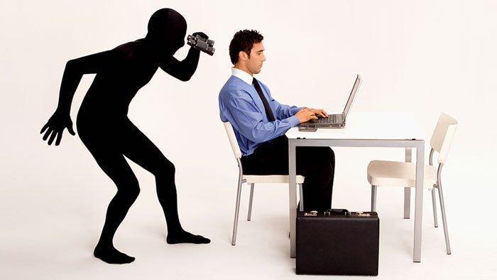espionar concorrente