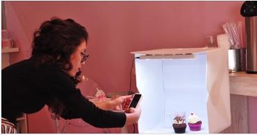 photo studio box fotos