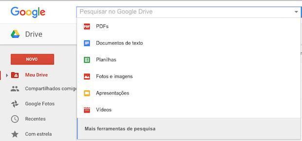 arquivos drive